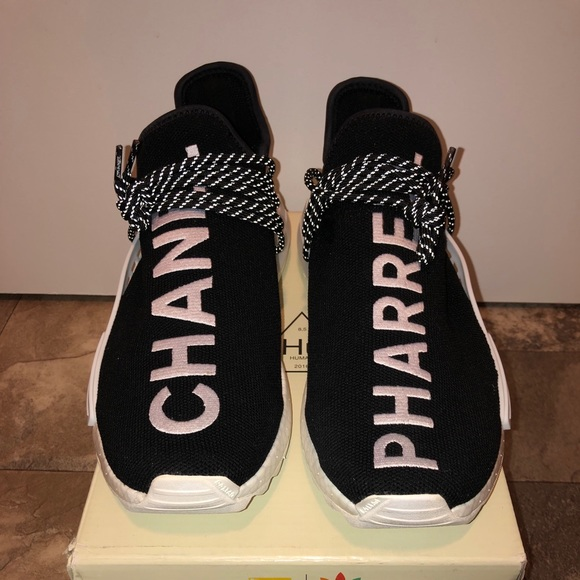 new product 71f2c be035 Pharrell x Chanel Human Race NMD
